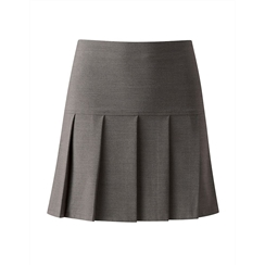 Grey Junior Charleston Skirt