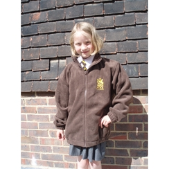 Sandhurst Fleece with Logo