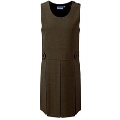 Brown Banner Tenby Pinafore