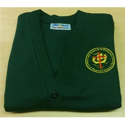 All Saints & St Richards Cardigan with Logo