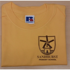 Sandhurst PE T-Shirt with New Logo