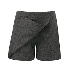 Grey Junior Girls Day Skort