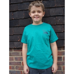 Kings Hill Green/Gibson PE T-Shirt with Logo