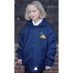 Kings Hill Coat with logo