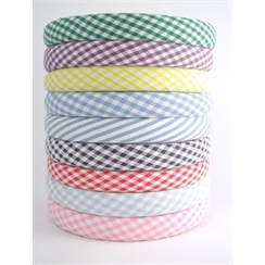 Gingham Hairbands