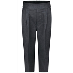 Boys Junior Grey School Trousers