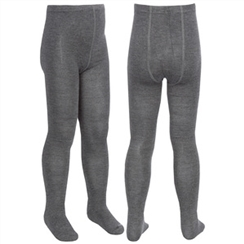 Grey Twin Pack School Tights