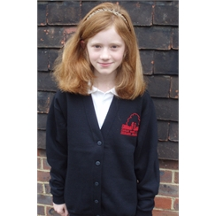 Forest Row Year 6 Cardigan with Logo
