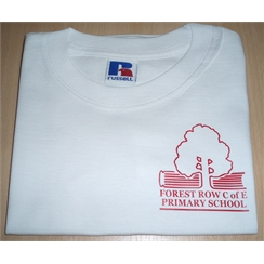 Forest Row PE T-Shirt with Logo