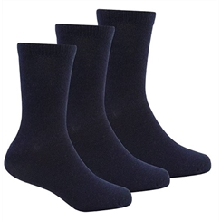 Navy 3-Pack Short Socks