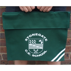 Stonegate Book Bag with Logo
