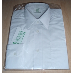 Clearance Long Sleeved White School Shirts