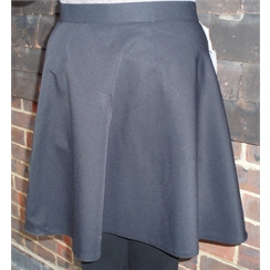 Clearance Black Senior Swing Skirt