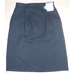 Clearance Black Senior Two Pocket Skirt