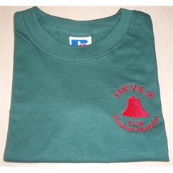 Hever Green/Bodiam House PE T-Shirt with Logo