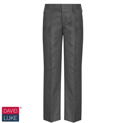 David Luke Boys Grey Junior School Trouser