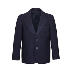 Clearance Navy Girls Wool Blazer