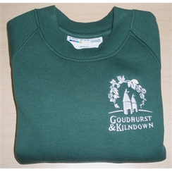 Goudhurst & Kilndown Sweatshirt with Embroidered Logo