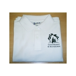 Goudhurst & Kilndown Polo with Printed Logo