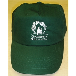 Goudhurst & Kilndown Baseball Cap with Embroidered Logo