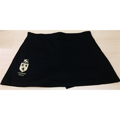 Cranbrook School Black Girls PE Skort with Logo