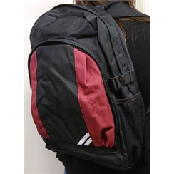 Classic Back Pack in Cranbrook School Colours