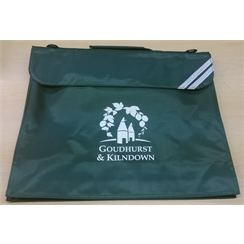 Goudhurst & Kilndown Book Bag with Logo