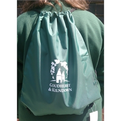 Goudhurst & Kilndown Gym Bag with Logo