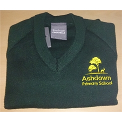 Ashdown Primary Jumper with Logo