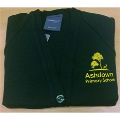 Ashdown Primary Cardigan with Logo