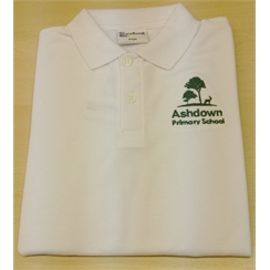 Ashdown Primary Polo with Logo