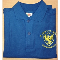 St Johns Polo with Logo