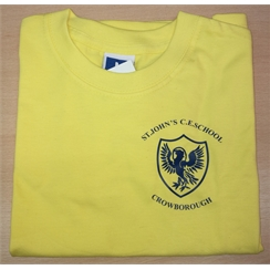 St Johns PE T-Shirt with Logo