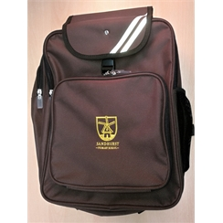 Sandhurst Junior Backpack with Logo