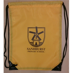 Sandhurst PE Bag with Logo