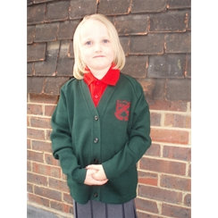 Rotherfield Cardigan with Logo