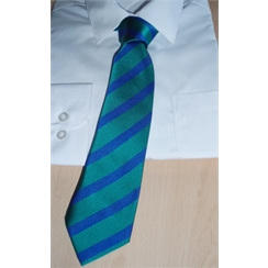 Clearance Green & Blue Senior Tie