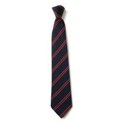 Senior School Length Clip-On Tie