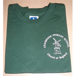 Cranbrook Primary PE T-Shirt with Logo