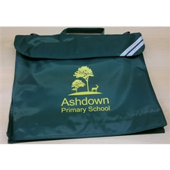 Ashdown Primary Book Bag with Logo