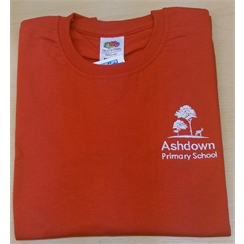 Ashdown Primary Junior Red House PE T-Shirt