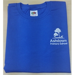 Ashdown Primary Junior Blue House PE T-Shirt