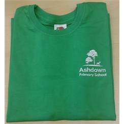 Ashdown Primary Junior Green House PE T-Shirt