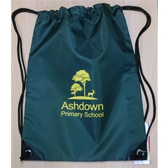 Ashdown Primary Gym Bag with Logo
