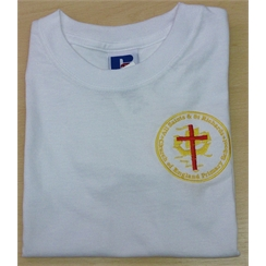 All Saints & St Richards PE T-shirt with Logo