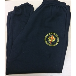 All Saints & St Richards Jogging Bottoms with Logo