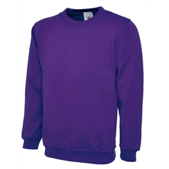 Plain Purple PE Sweatshirt