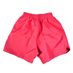 Clearance Red Nylon PE Shorts