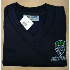 Five Ashes Primary Sweatshirt with Logo
