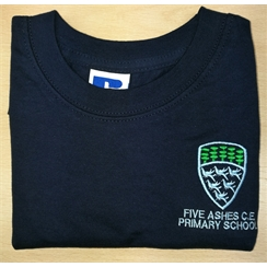 Five Ashes Primary PE T-Shirt with Logo